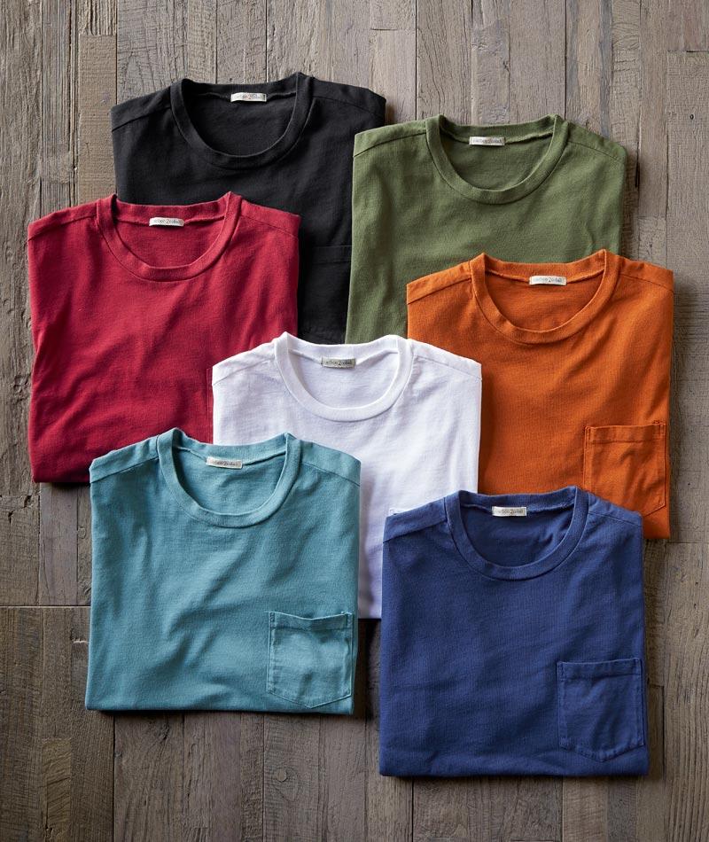 Men's Short-Sleeve Equilibrium T-Shirt in 100% Cotton