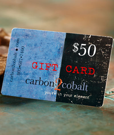 Carbon2Cobalt $50 Electronic Gift Card  Carbon2Cobalt